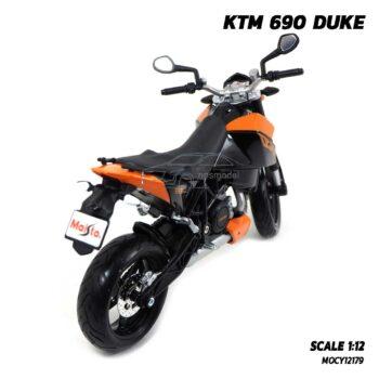 โมเดลมอเตอร์ไซด์ KTM 690 DUKE (Scale 1:12) โมเดลจำลองเหมือนจริง พร้อมตั้งโชว์