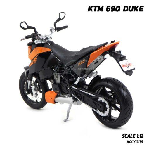 โมเดลมอเตอร์ไซด์ KTM 690 DUKE (Scale 1:12) โมเดลจำลองเหมือนจริง ของสะสม Maisto