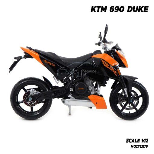 โมเดลมอเตอร์ไซด์ KTM 690 DUKE (Scale 1:12) โมเดลจำลองเหมือนจริง ของแท้