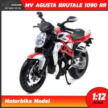 โมเดลมอเตอร์ไซด์ MV AGUSTA BRUTALE 1090 RR (Scale 1:12)