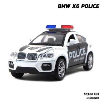 โมเดลรถตำรวจ BMW X6 Police (1:32)