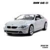 โมเดลรถยนต์ BMW 645 Ci สีบรอนด์เงิน (Scale 1:24) โมเดลจำลองเหมือนจริง