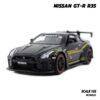 โมเดลรถยนต์ NISSAN GT-R R35 (1:32) โมเดลซุปเปอร์คาร์ นิสสัน จีทีอาร์ สีดำ โมเดลประกอบสำเร็จ