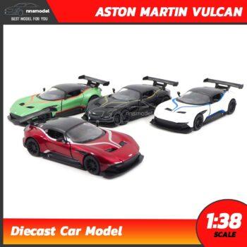 โมเดลรถสปอร์ต ASTON MARTIN VULCAN คาดลาย (Scale 1:38)