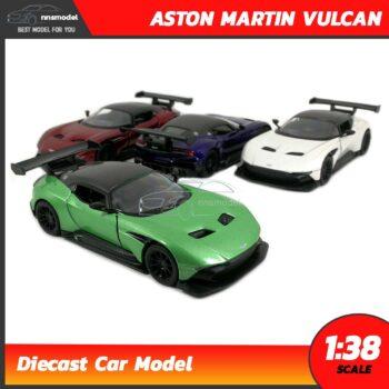 โมเดลรถสปอร์ต ASTON MARTIN VULCAN (Scale 1:38)