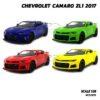 โมเดลรถเหล็ก CHEVROLET CAMARO ZL1 2017 (1:38) มี 4 สี