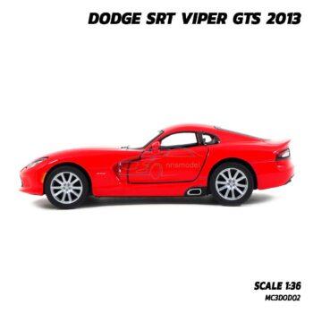 โมเดลรถเหล็ก DODGE SRT VIPER GTS 2013 (Scale 1:36)