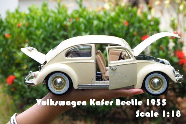 โมเดลรถเต่า รถคลาสสิค Volkswagen Kafer Beetle 1955
