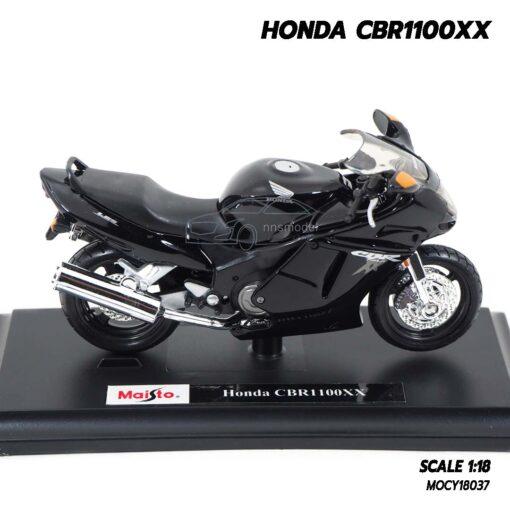 โมเดลบิ๊กไบค์ HONDA CBR1100XX สีดำ (Scale 1:18) Motorbike Model