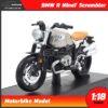 โมเดลมอเตอร์ไซด์ คลาสสิค BMW R NineT Scrambler (1:18)