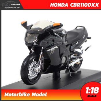 โมเดลมอเตอร์ไซด์ ฮอนด้า HONDA CBR1100XX (1:18)