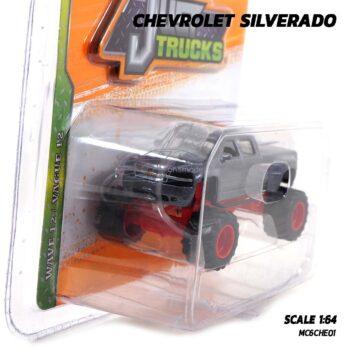 โมเดลรถกระบะ CHEVROLET SILVERADO Jada (1:64) รถเหล็กของสะสม
