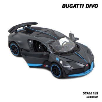 โมเดลรถซุปเปอร์คาร์ BUGATTI DIVO (Scale 1:32) โมเดลรถเหล็ก เปิดประตูรถซ้ายขวาได้