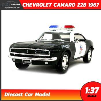 โมเดลรถตำรวจ CHEVROLET BEL AIR 1957