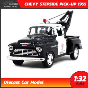โมเดลรถตำรวจ CHEVY STEPSIDE PICK-UP 1955 (Scale 1:32)