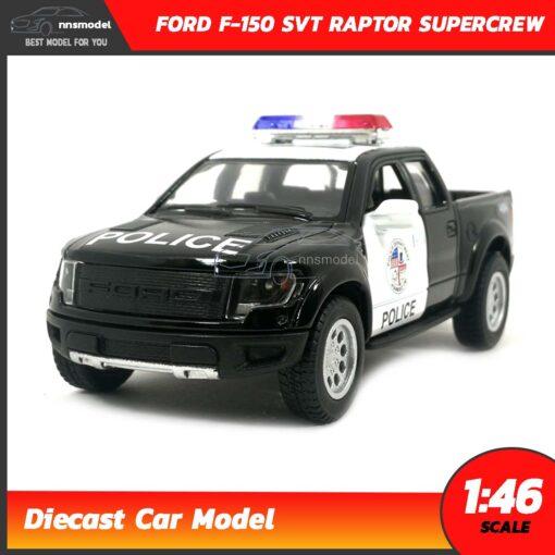 โมเดลรถตำรวจ FORD F-150 SVT RAPTOR SUPERCREW (Scale 1:46)
