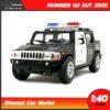 โมเดลรถตำรวจ HUMMER H2 SUT 2005