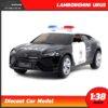 โมเดลรถตำรวจ LAMBORGHINI URUS (Scale 1:38)