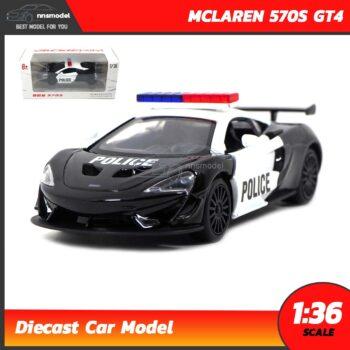 โมเดลรถตำรวจ MCLAREN 570S GT4