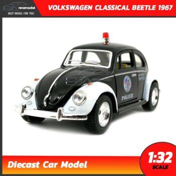 โมเดลรถตำรวจ Volkswagen Classic Beetle 1967