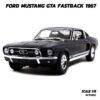 โมเดลรถมัสแตง FORD MUSTANG GTA FASTBACK 1967 (Scale 1:18)