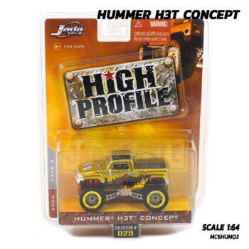โมเดลรถ HUMMER H3T CONCEPT สีทอง Jada (1:64)
