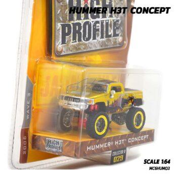 โมเดลรถ HUMMER H3T CONCEPT สีทอง Jada (1:64) model รถจำลอง