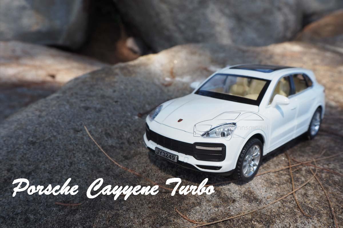 รถโมเดล Porsche Cayenne Turbo