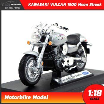 โมเดลมอเตอร์ไซด์ KAWASAKI VULCAN 1500 Mean Streak 2002 (1:18)