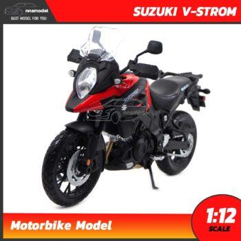 โมเดลมอเตอร์ไซด์ SUZUKI V-STROM (Scale 1:12)