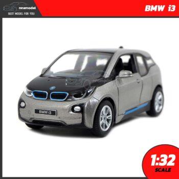 โมเดลรถยนต์ BMW i3 สีบรอนด์ทอง (Scale 1:32)