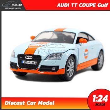 โมเดลรถสปอร์ต AUDI TT COUPE Gulf (Scale 1:24)
