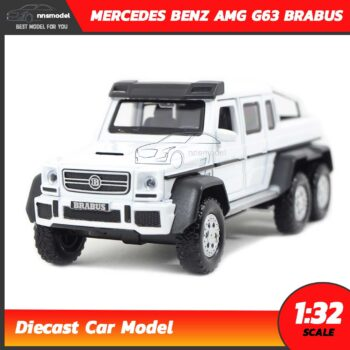 โมเดลรถเบนซ์ MERCEDES BENZ AMG G63 BRABUS (Scale 1:32)