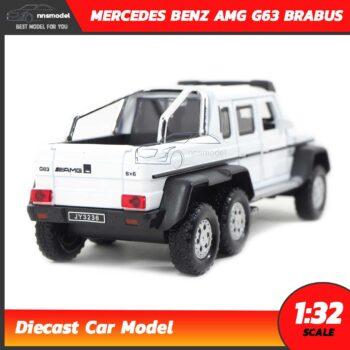โมเดลรถเบนซ์ MERCEDES BENZ AMG G63 BRABUS (Scale 1:32) โมเดลรถเหล็ก มีเสียงมีไฟ