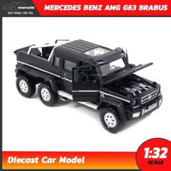 โมเดลรถเบนซ์ MERCEDES BENZ AMG G63 BRABUS (Scale 1:32) รถโมเดลเหล็ก เปิดฝากระโปรงหน้าได้