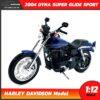โมเดลฮาเล่ย์ HARLEY DAVIDSON DYNA SUPER GLIDE SPORT 2004 (1:12)