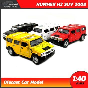 โมเดลรถเหล็ก ฮัมเมอร์ HUMMER H2 SUV 2008 (Scale 1:40)