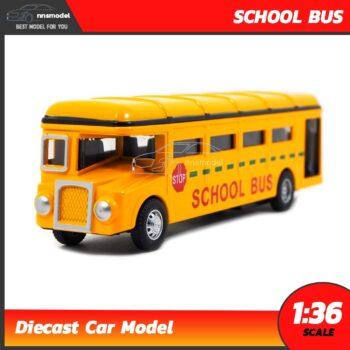 โมเดลรถโรงเรียน School Bus โมเดลรถบัส