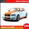 โมเดลรถ BMW M3 2008 Gulf (Scale 1:24)