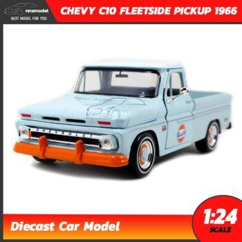 โมเดลรถคลาสสิค CHEVY C10 FLEETSIDE PICKUP 1956 GULF (1:24)