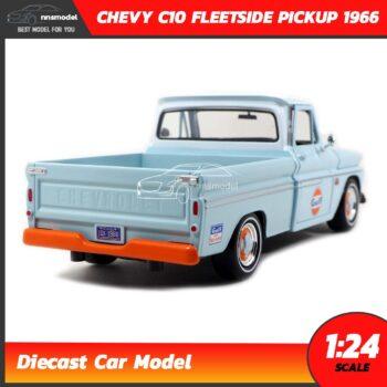 โมเดลรถคลาสสิค CHEVY C10 FLEETSIDE PICKUP 1956 GULF (1:24) โมเดลรถเหล็ก ประกอบสำเร็จ พร้อมตั้งโชว์