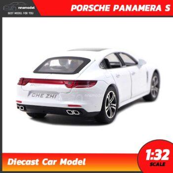 โมเดลรถ PORSCHE PANAMERA S สีขาว (Scale 1:32) Diecast Model